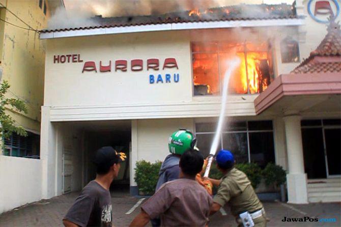 Kebakaran di Kawasan Stasiun Cirebon