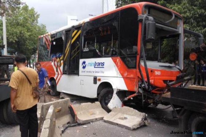 Human Error, Bus Transjakarta 44 Kali Kecelakaan Selama 2018