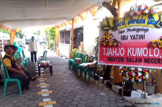 Ibu Mertua Tjahjo Kumolo Meninggal