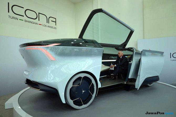 Icona Nucleus, Prototipe Mobil Masa Depan yang Mirip Kendaraan Angkasa