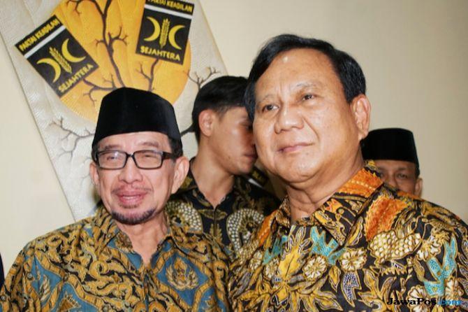 Prabowo dan Salim Segaf