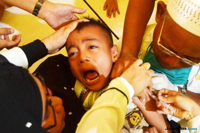 vaksinasi MR, vaksin rubella, campak rubella,
