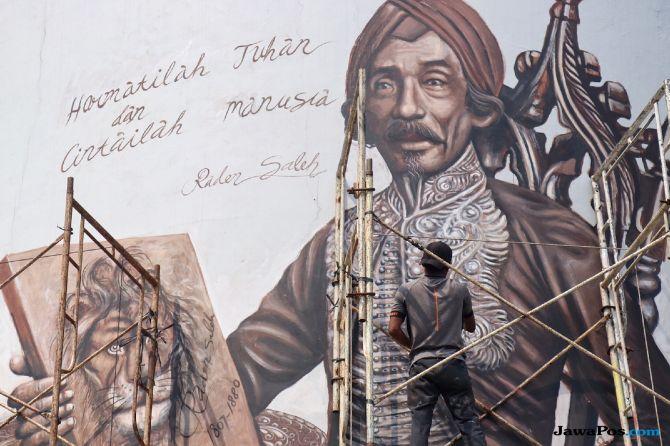 Indahnya! Mural Ismail Marzuki hingga HB Jassin Hiasi Kawasan TIM