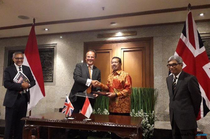 Indonesia-Inggris Kerja Sama Keamanan Siber