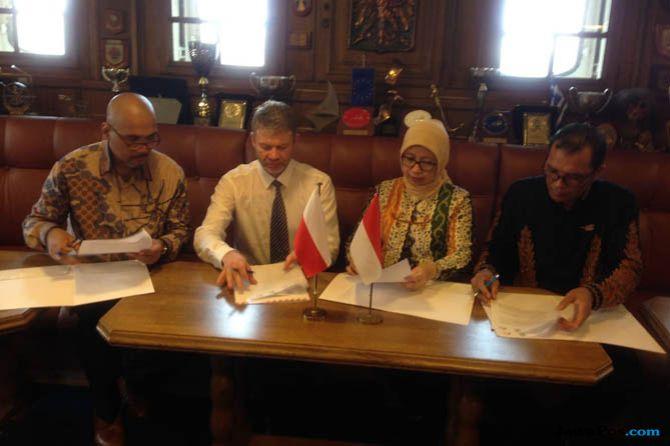 Indonesia Polandia, industri perkapalan
