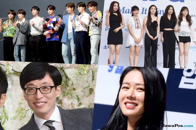 Ini Daftar Artis Pemenang Penghargaan dari Pemerintah Korea Tahun 2018