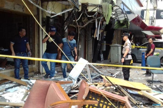Ini Penjelasan Puslabfor Soal Dahsyatnya Ledakan di Ruko Grand Wijaya