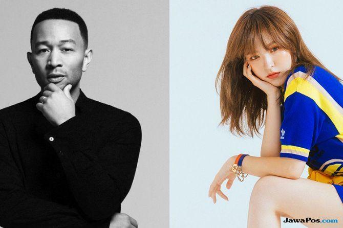 Ini Tanggal Kolaborasi John Legend dan Wendy Red Velvet