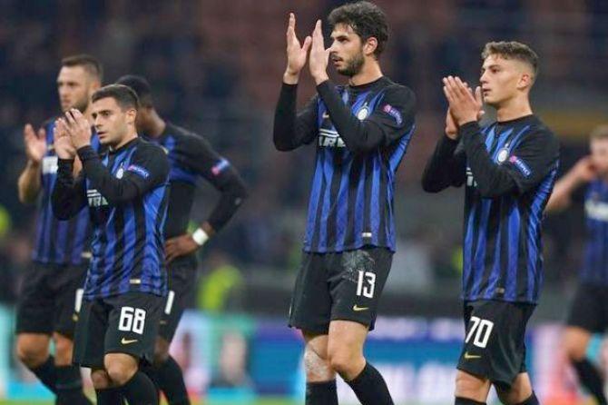 Liga Europa 2018-2019, Inter Milan
