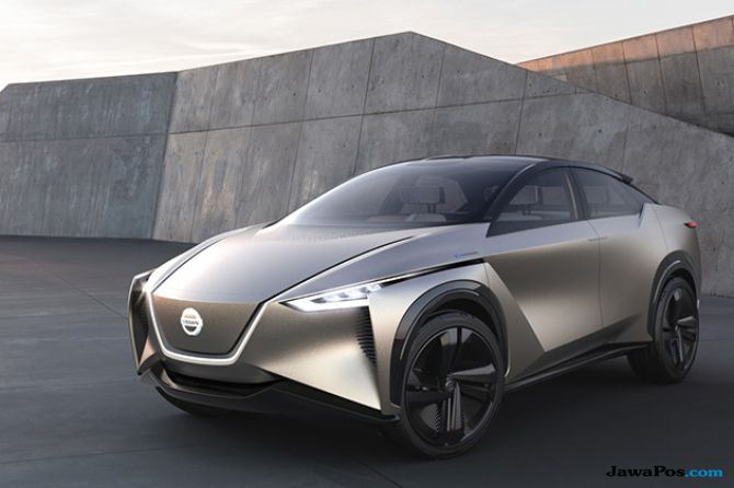 Jadi Kenyataan, Mobil Listrik Futuristik Nissan Akhirnya Diproduksi