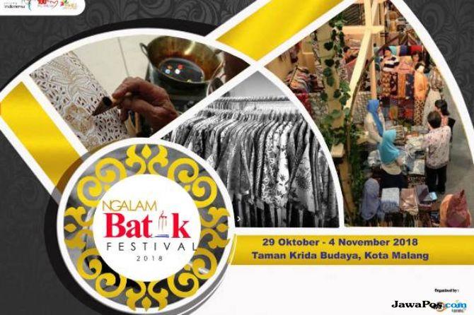 Jadi Warisan Budaya, Ratusan Produk Batik RI Dipamerkan Oktober 2018