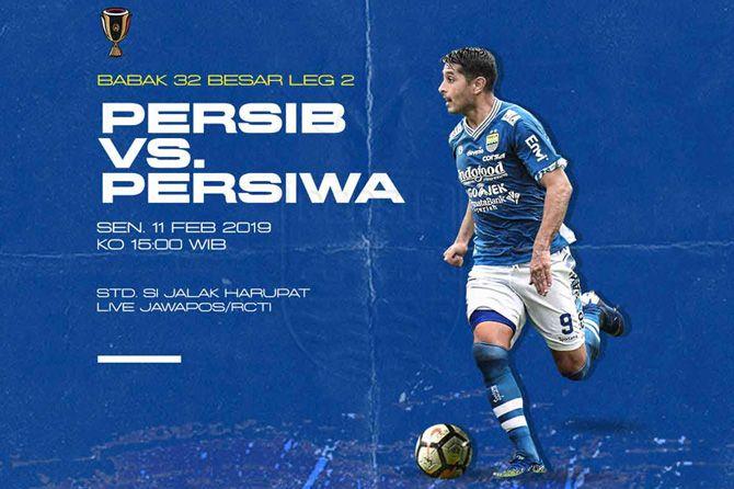 Jadwal Siaran Langsung, Jadwal Live TV, Persiwa, Persib Bandung, Piala Indonesia