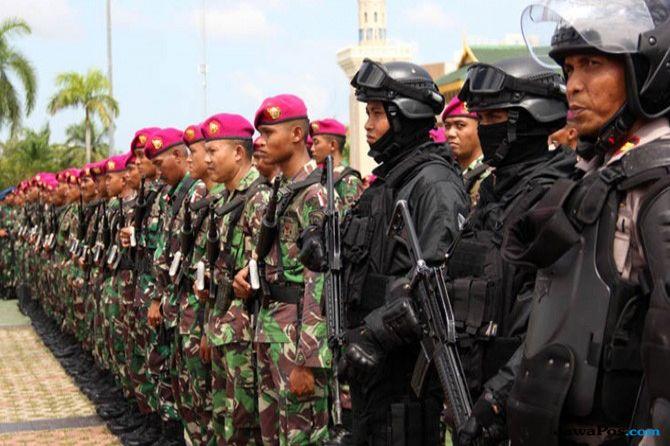 Jaga Marwah Presiden, 1.720 Aparat Kawal Kunjungan Jokowi