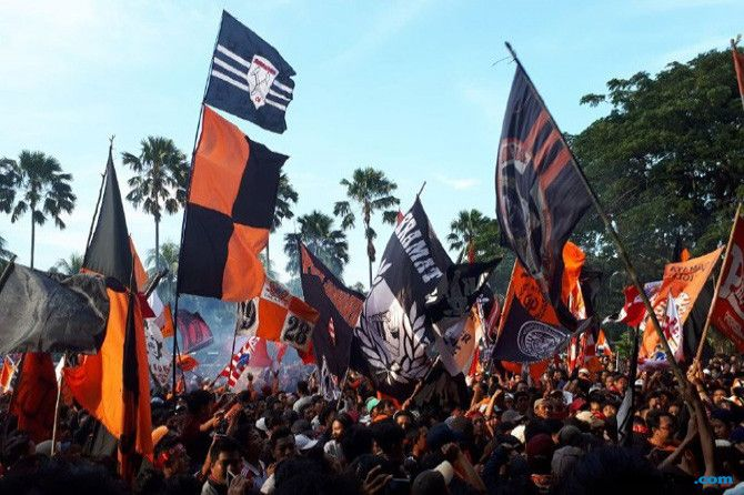 Persija Jakarta, Bali United, Liga 1 2018, Jakmania