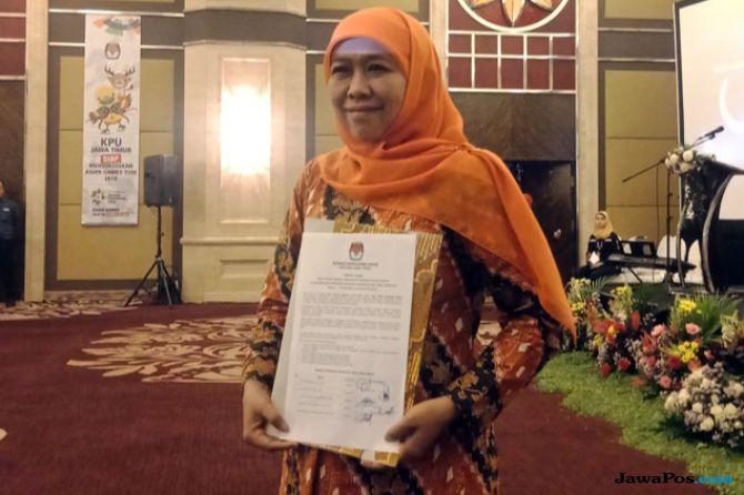 Gubernur Jawa Timur terpilih, Khofifah Indar Parawansa