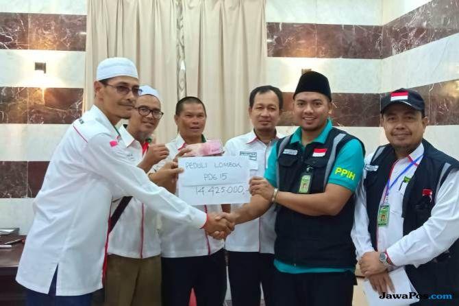 Jamaah Haji Indonesia Galang Dana dari Mekkah