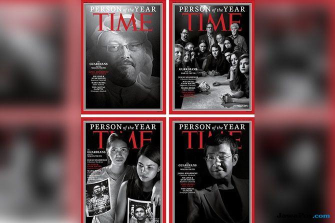 Jamal Khashoggi Dinobatkan sebagai Jurnalis Penjaga Kebenaran