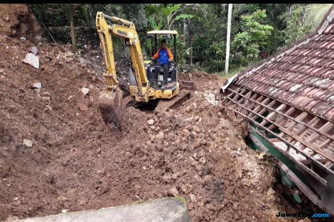 Januari 2019, 125 Bencana Tanah Longsor Terjadi di Jateng