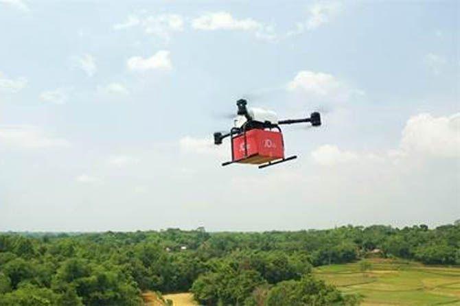 JD.Id, JD.Id drone, JD.Id kirim paket drone
