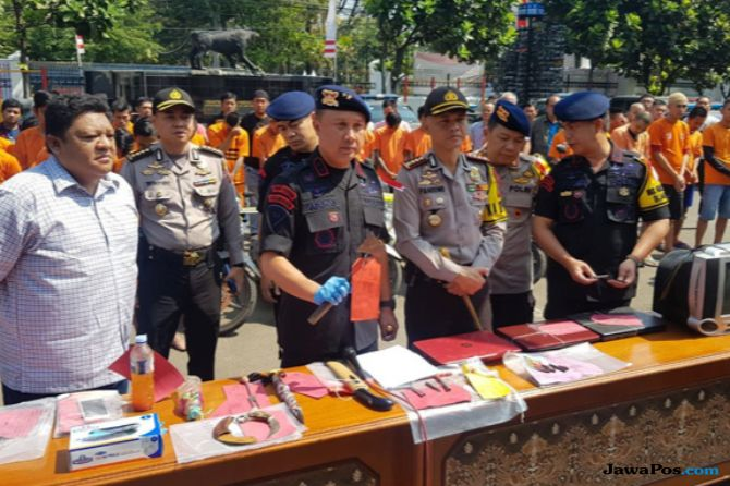 Jelang Asian Games, Ratusan Penjahat di Jabar Ditangkap