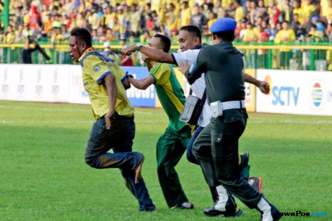 Jelang Laga Persibat Vs Persis, Polisi Semarang Siaga Satu