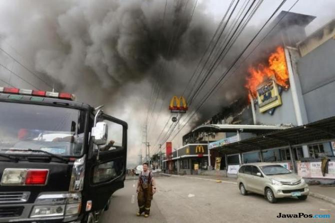 Jelang Natal, 37 Orang Tewas Terbakar di Filipina