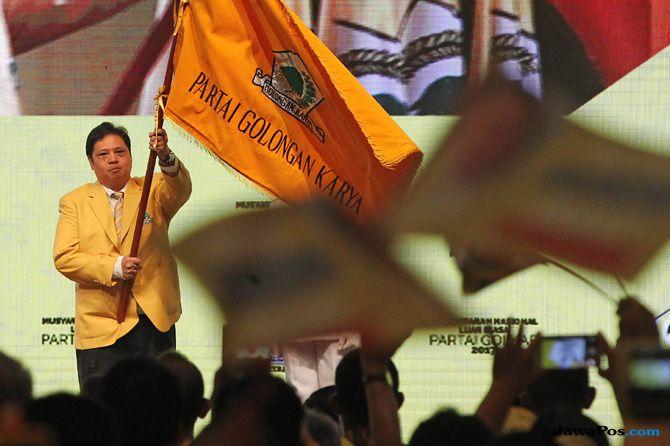 Jika Jokowi Pilih Airlangga, Mesin Politik Golkar Diyakini Makin Solid