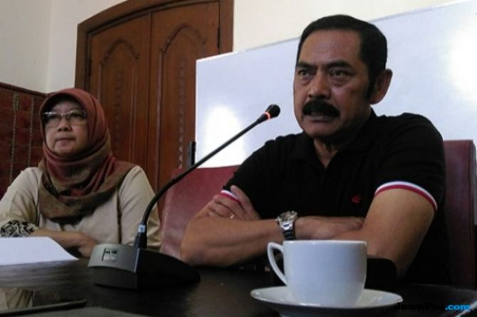 Ketua DPC PDI Perjuangan Solo, F.X. Hadi Rudyatmo