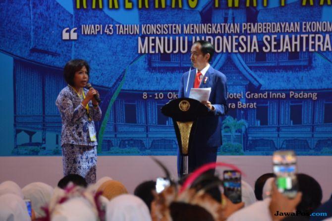 Jokowi Ajak Pengusaha Wanita Ekspor Produk ke Afrika