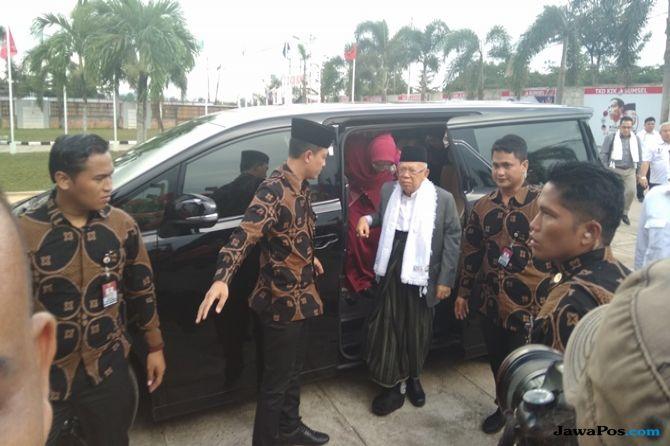 Jokowi Dituduh Anti-Islam, Ma'ruf: Masih Percaya Hoaks Berarti Oon