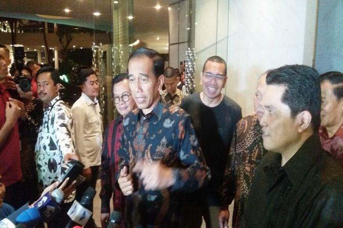 Jokowi Gelar Pertemuan Tertutup Dengan Elite TKN, Ini yang Dibahas