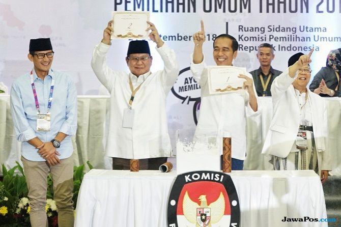 Jokowi-Ma'ruf Amin Targetkan Perolehan Suara 55 Persen