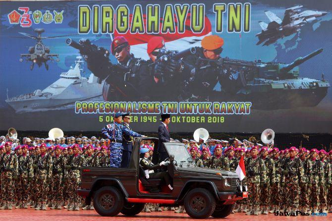 Jokowi: TNI Jangan Terkotak-kotak Karena Kepentingan Politik Sempit