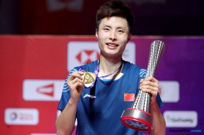 World Tour Finals 2018, Shi Yuqi, Tiongkok, bulu tangkis, Kento Momota, BWF