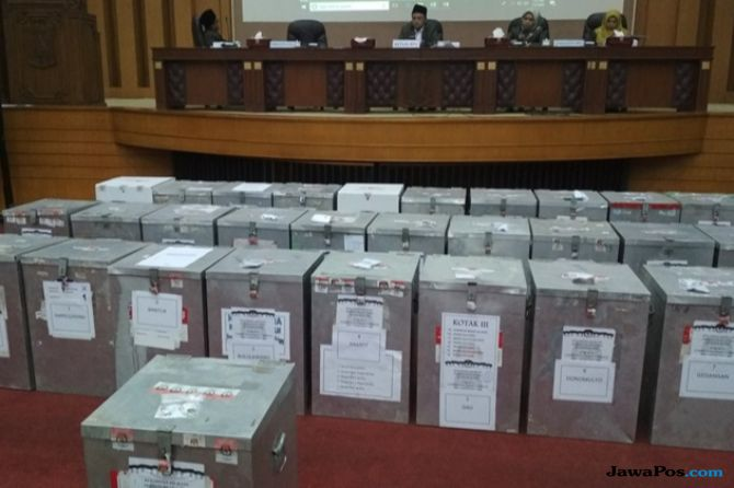 Jumlah Partispasi Pilgub Jatim di Malang Meningkat Lima Persen