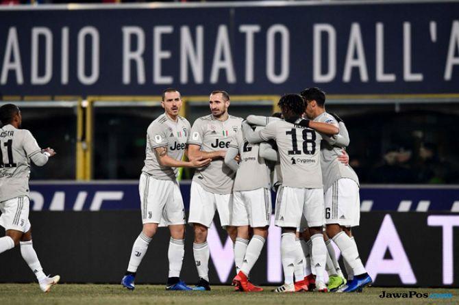 Coppa Italia 2018-2019, Juventus, Bologna, Bologna 0-2 Juventus