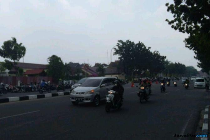 Kabut Asap Selimuti Kabupaten Pelalawan