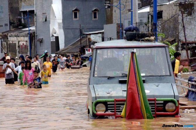 Kadis SDA DKI Klaim Kuantitas dan Titik Banjir Berkurang