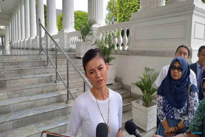 Kagetnya Agnes Monica Saat Ditanya Presiden Jokowi Soal Ini