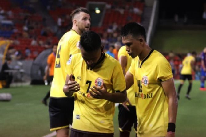 Liga Champions Asia 2019, Persija Jakarta, Newcastle Jets