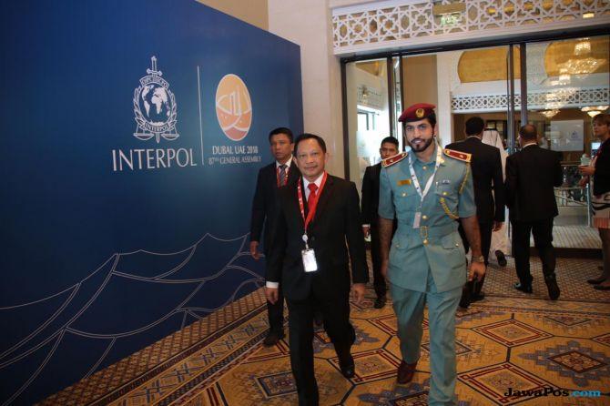 Kapolri Pimpin Delegasi Indonesia di Sidang Umum Interpol