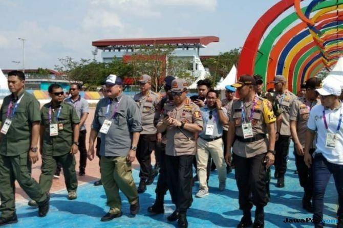 Kapolri Targetkan Zero Insiden Selama Asian Games 2018