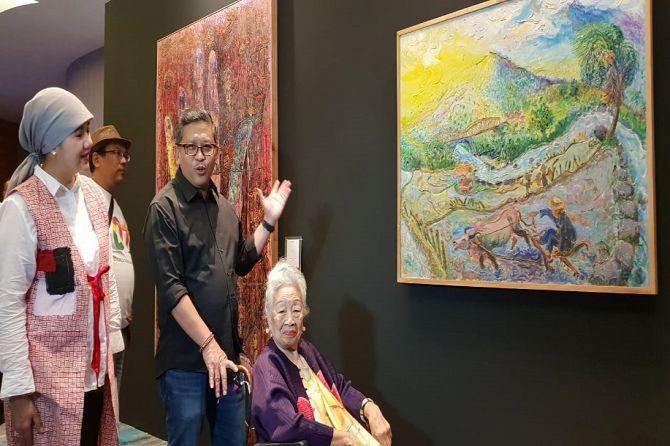 Karya Seniman Kondang Dilelang untuk Sokong 'Kocek' Jokowi-Ma'ruf