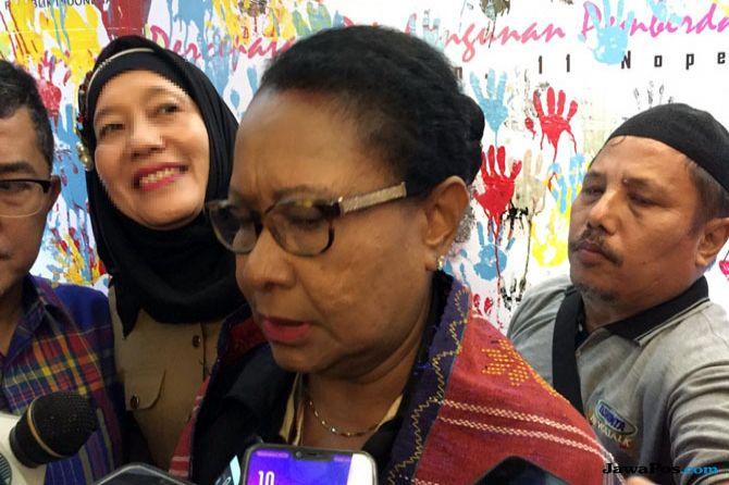 Menteri Pemberdayaan Perempuan dan Perlindungan Anak (PPPA) Yohana Susana Yembise