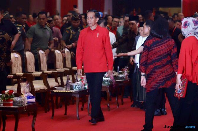 Kata Jokowi, PDIP Bersyukur Punya Megawati