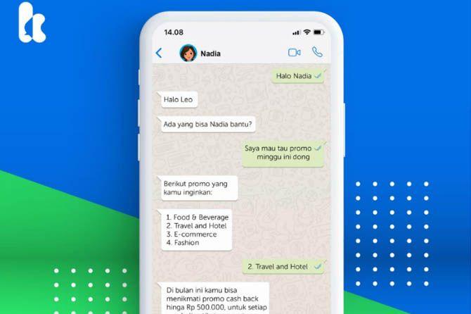 kata.ai, kata.ai chatbot whatsapp, kata.ai whatsapp bisnis