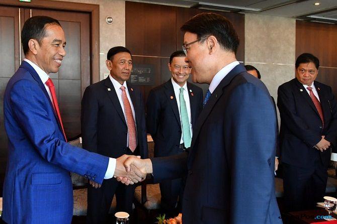 Ke Korsel, Jokowi Dipuji Berhasil Selenggarakan Asian Games