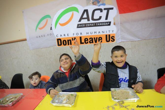 palestina, gaza, Sindrom Down, act,