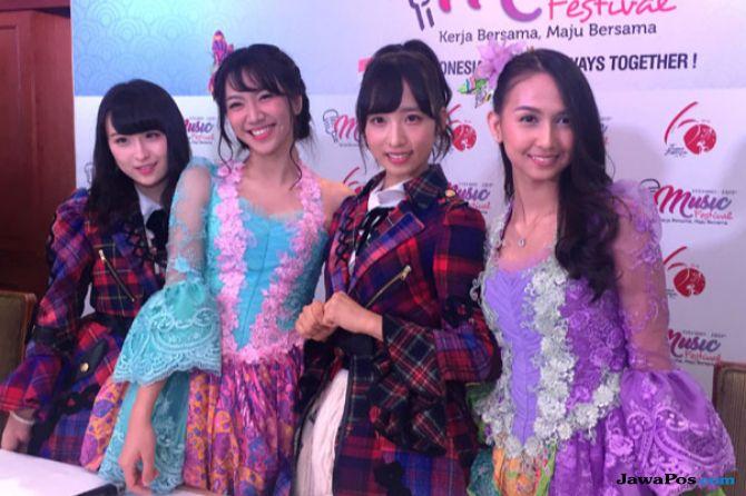 Kejutan, AKB48 Akan Bernyanyi Dalam Bahasa Indonesia di Music Festival