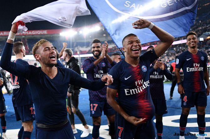Ligue 1 2018-2019, Klasemen Sementara, Paris Saint-Germain, Kylian Mbappe